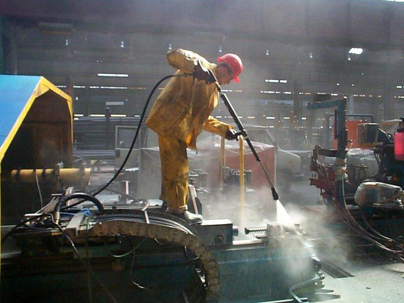 nettoyage industriel et maintenance